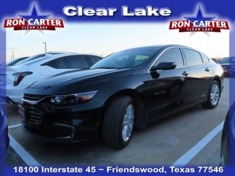 2017 Chevrolet Malibu for sale at Ron Carter  Clear Lake Used Cars in Houston TX