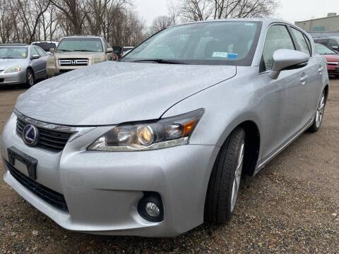 2012 Lexus CT 200h for sale at MFT Auction in Lodi NJ