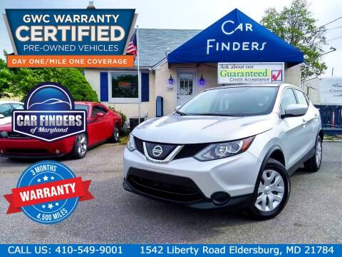 2018 Nissan Rogue Sport for sale at CAR FINDERS OF MARYLAND LLC - Certified Cars in Eldersburg MD