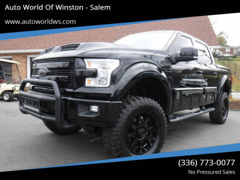 2016 Ford F-150 for sale at Auto World Of Winston - Salem in Winston Salem NC