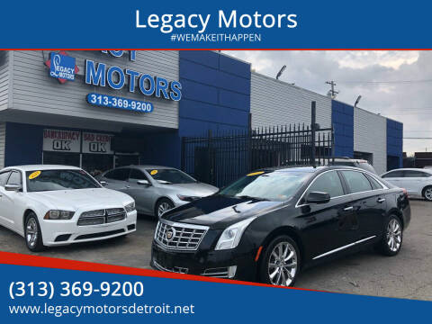 2014 Cadillac XTS for sale at Legacy Motors in Detroit MI