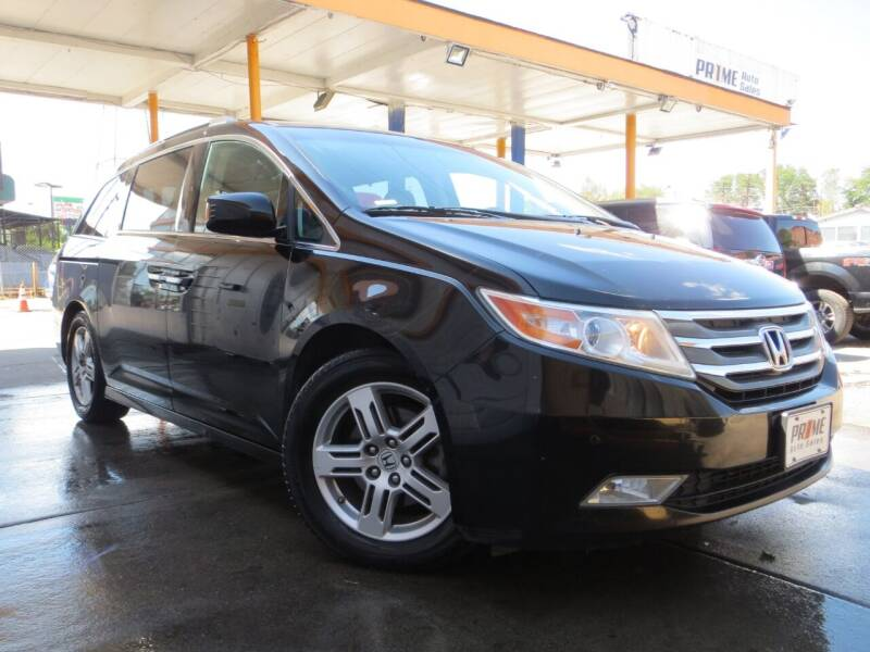 2013 Honda Odyssey for sale at PR1ME Auto Sales in Denver CO