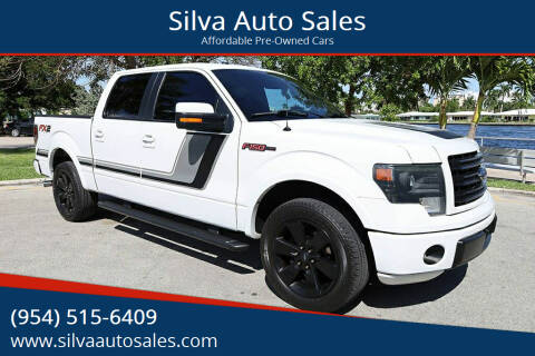 2014 Ford F-150 for sale at Silva Auto Sales in Pompano Beach FL