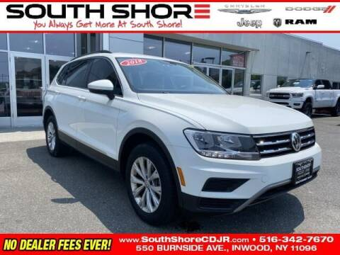 2018 Volkswagen Tiguan for sale at South Shore Chrysler Dodge Jeep Ram in Inwood NY