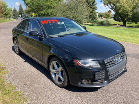 2010 Audi A4 for sale at BELOW BOOK AUTO SALES in Idaho Falls ID