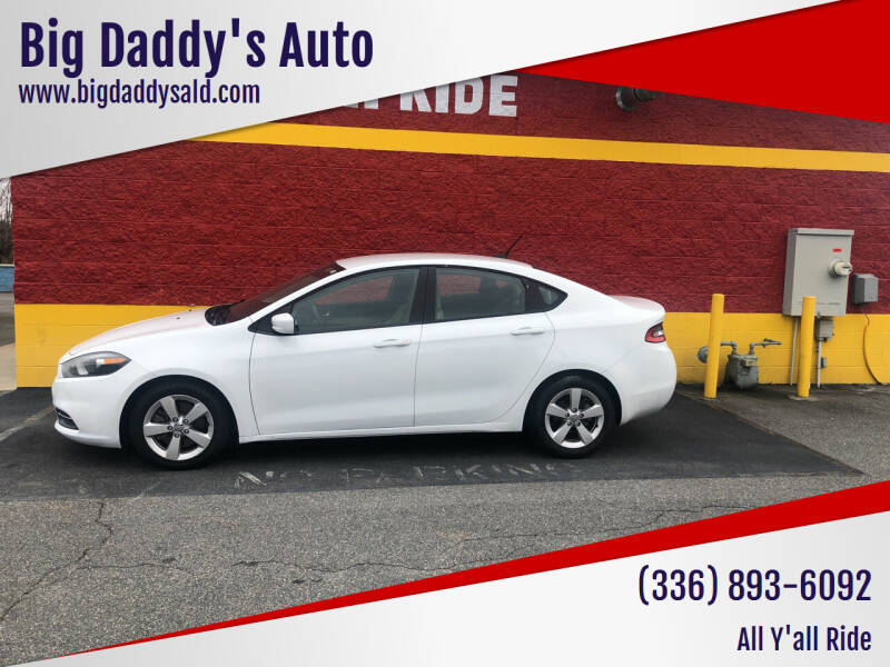 2016 Dodge Dart for sale at Big Daddy's Auto in Winston-Salem NC