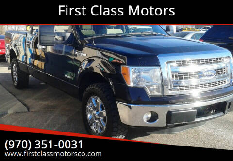 2013 Ford F-150 for sale at First Class Motors in Greeley CO