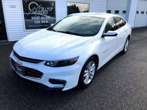 2017 Chevrolet Malibu for sale at HILLTOP MOTORS INC in Caribou ME