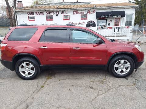 2010 GMC Acadia for sale at Class Act Motors Inc in Providence RI