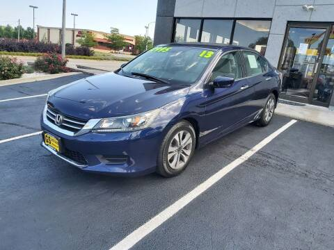 2013 Honda Accord for sale at GS AUTO SALES INC in Milwaukee WI