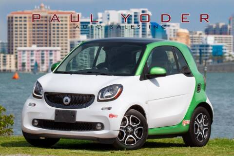 2017 Smart fortwo electric drive for sale at PAUL YODER AUTO SALES INC in Sarasota FL