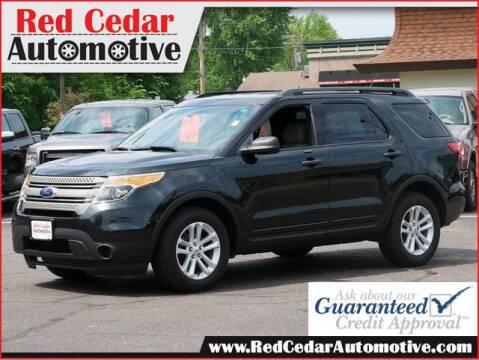 2015 Ford Explorer for sale at Red Cedar Automotive in Menomonie WI