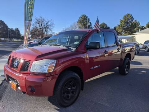 2007 Nissan Titan for sale at Progressive Auto Sales in Twin Falls ID