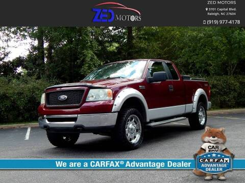 2006 Ford F-150 for sale at Zed Motors in Raleigh NC