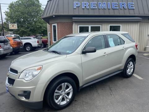 2013 Chevrolet Equinox for sale at Premiere Auto Sales in Washington PA