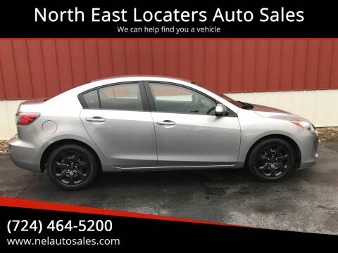 2013 Mazda MAZDA3 for sale at North East Locaters Auto Sales in Indiana PA