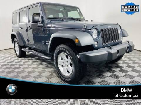 2018 Jeep Wrangler JK Unlimited for sale at Preowned of Columbia in Columbia MO