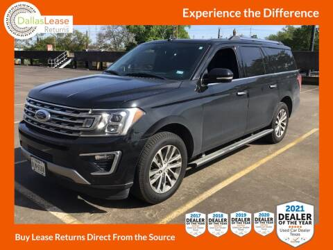 2018 Ford Expedition MAX for sale at Dallas Auto Finance in Dallas TX