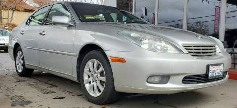 2004 Lexus ES 330 for sale at ALL CREDIT AUTO SALES in San Jose CA
