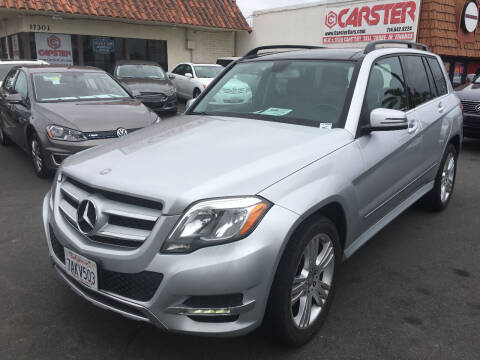 2013 Mercedes-Benz GLK for sale at CARSTER in Huntington Beach CA