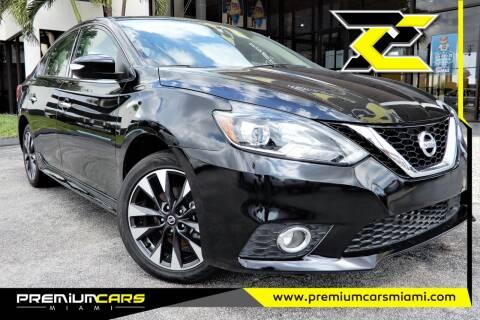 2019 Nissan Sentra for sale at Premium Cars of Miami in Miami FL