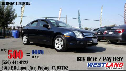 2008 Ford Fusion for sale at Westland Auto Sales in Fresno CA