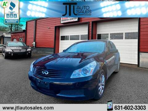 2007 Infiniti G35 for sale at JTL Auto Inc in Selden NY