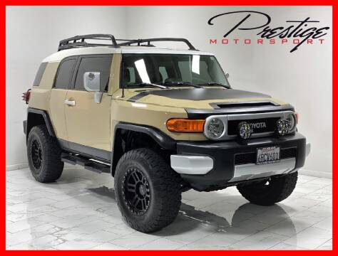 2011 Toyota FJ Cruiser for sale at Prestige Motorsport in Rancho Cordova CA