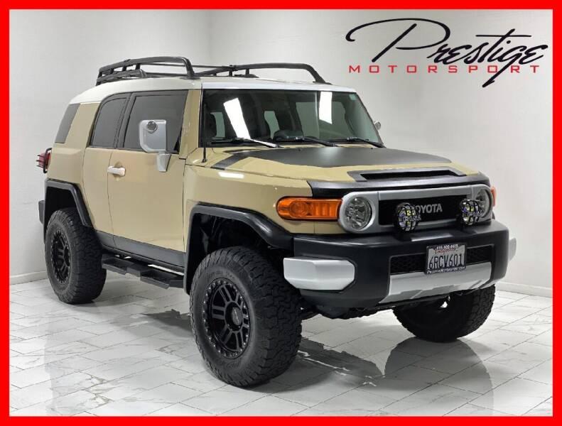 2011 Toyota FJ Cruiser for sale at Prestige Motorsport in Rancho Cordova CA