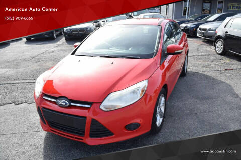 2013 Ford Focus for sale at American Auto Center in Austin TX