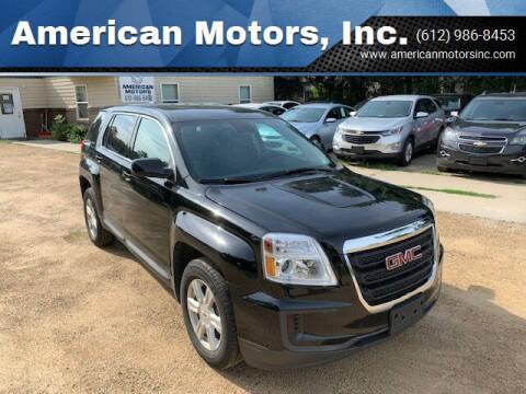 2016 GMC Terrain for sale at American Motors, Inc. in Farmington MN