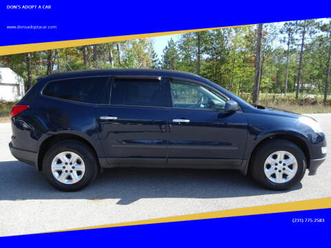 2012 Chevrolet Traverse for sale at DON'S ADOPT A CAR in Cadillac MI