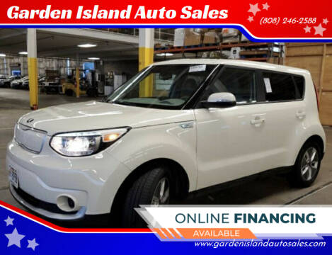 2018 Kia Soul EV for sale at Garden Island Auto Sales in Lihue HI