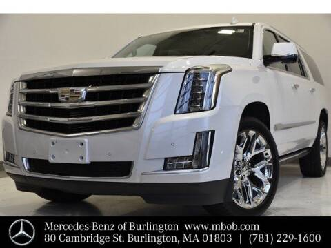 2020 Cadillac Escalade ESV for sale at Mercedes Benz of Burlington in Burlington MA