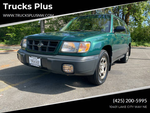 1999 Subaru Forester for sale at Trucks Plus in Seattle WA