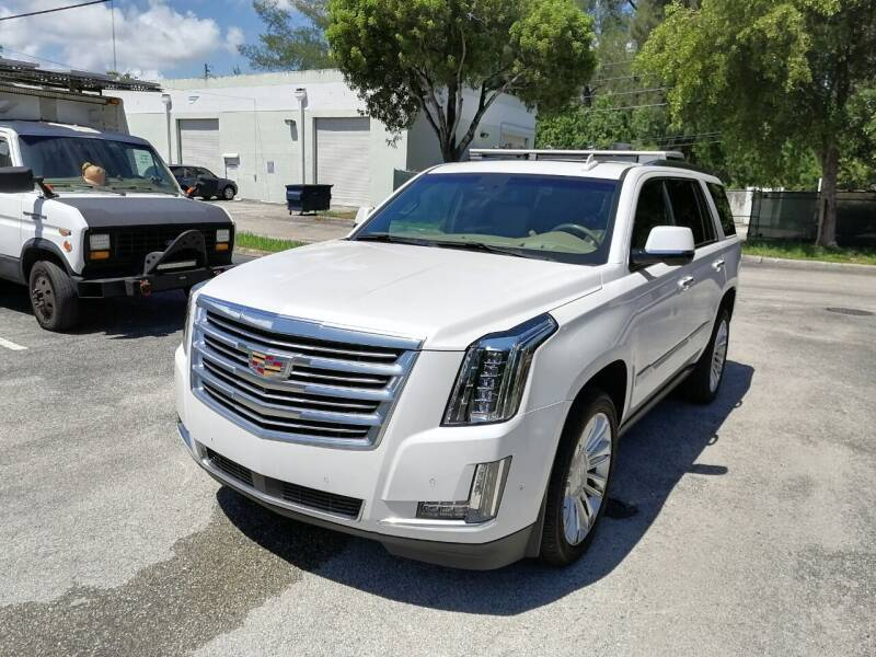 2018 Cadillac Escalade for sale at Best Price Car Dealer in Hallandale Beach FL