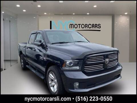 2016 RAM Ram Pickup 1500 for sale at NYC Motorcars in Freeport NY