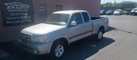 2005 Toyota Tundra for sale at ENZO AUTO in Parma OH