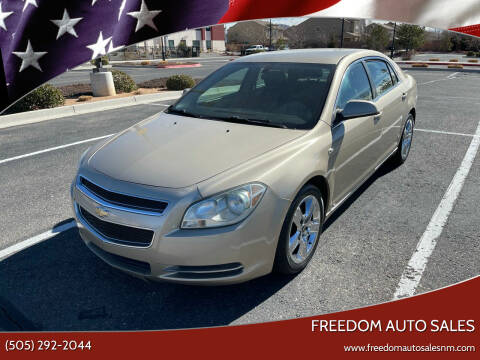 2008 Chevrolet Malibu for sale at Freedom Auto Sales in Albuquerque NM