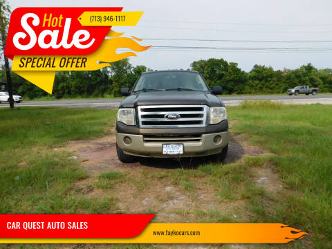 2008 Ford Expedition for sale at CAR QUEST AUTO SALES in Houston TX