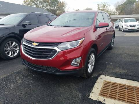 2018 Chevrolet Equinox for sale at McCully's Automotive - Trucks & SUV's in Benton KY