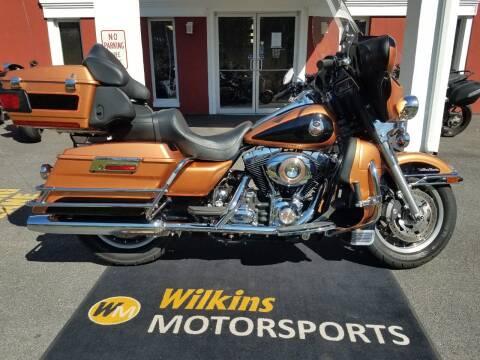 2008 Harley-Davidson Electra Glide for sale at WILKINS MOTORSPORTS in Brewster NY