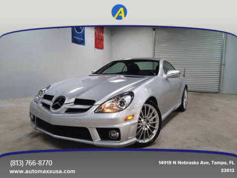 2011 Mercedes-Benz SLK for sale at Automaxx in Tampa FL
