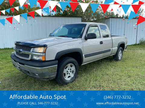 2005 Chevrolet Silverado 1500 for sale at Affordable Auto Spot in Houston TX