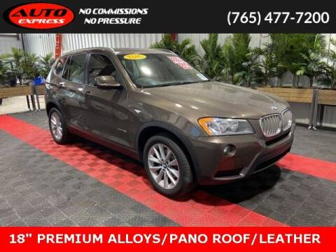 2013 BMW X3 for sale at Auto Express in Lafayette IN