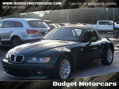 1999 BMW Z3 for sale at Budget Motorcars in Tampa FL