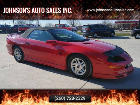 1996 Chevrolet Camaro for sale at Johnson's Auto Sales Inc. in Decatur IN