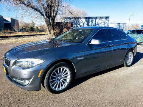 2012 BMW 5 Series for sale at J & M PRECISION AUTOMOTIVE, INC in Fort Collins CO