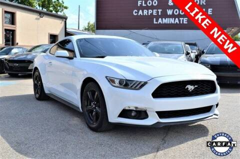 2016 Ford Mustang for sale at LAKESIDE MOTORS, INC. in Sachse TX