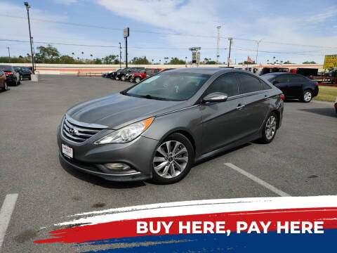 2014 Hyundai Sonata for sale at Mid Valley Motors in La Feria TX